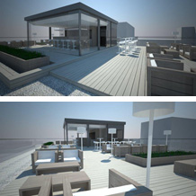 Reconstruction of the flat roof of AutoHrvatska business building